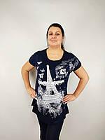 Костюм женский СУПЕРБАТАЛ, туника+бриджи (58-64) Турция купить от склада 7 км Одесса, фото 1