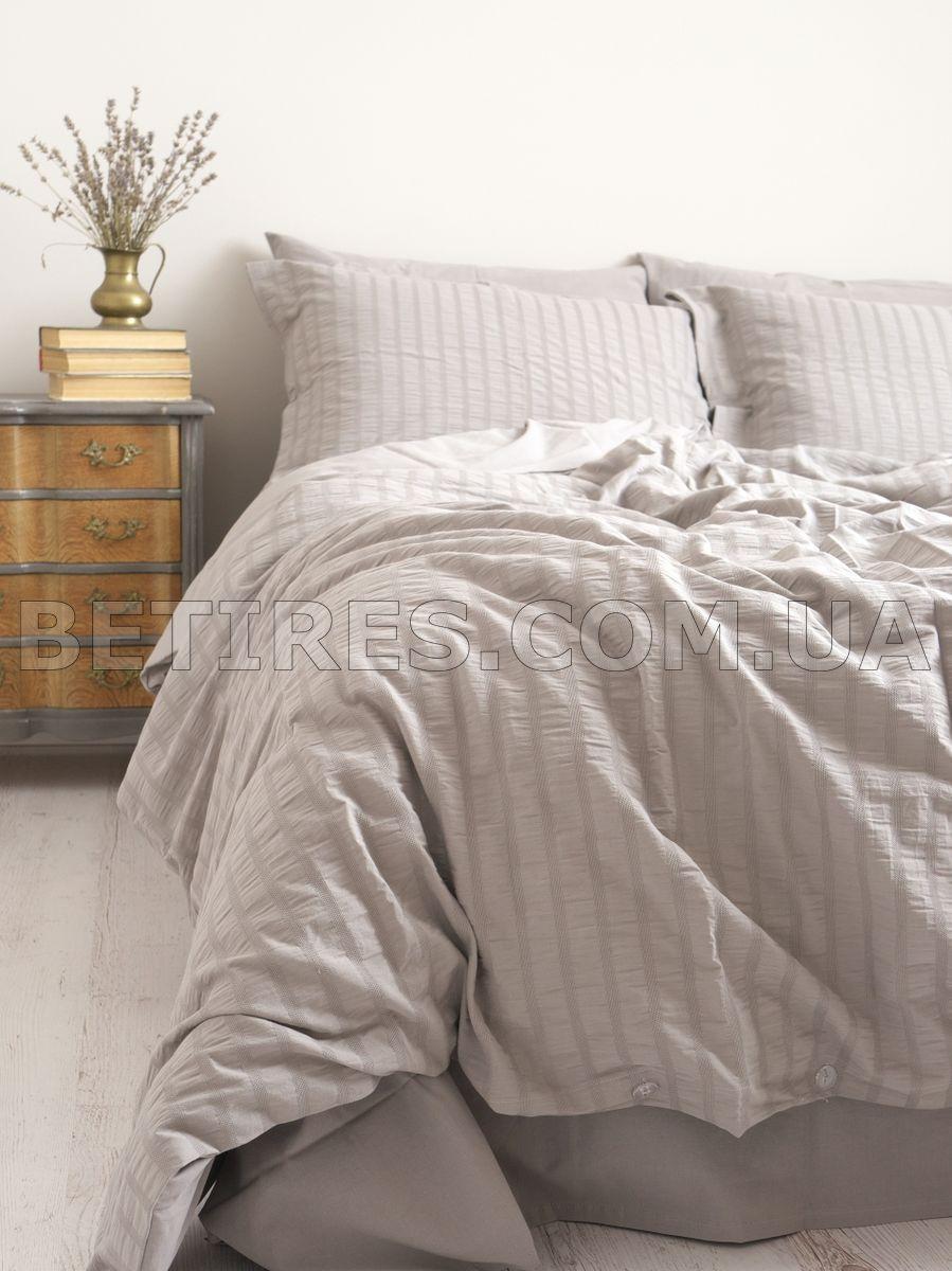 Комплект постельного белья 200x220 NEW CAMILE GREY серый