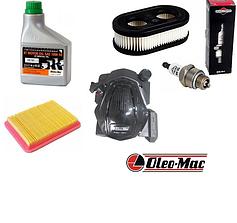 Двигатели, фильтра, масла, свечи для газонокосилок OLEO-MAC