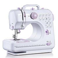Портативная многофункциональная швейная машинка Michley Electronics LSS FHSM-505 7 Вт Белая (46-1013140307)