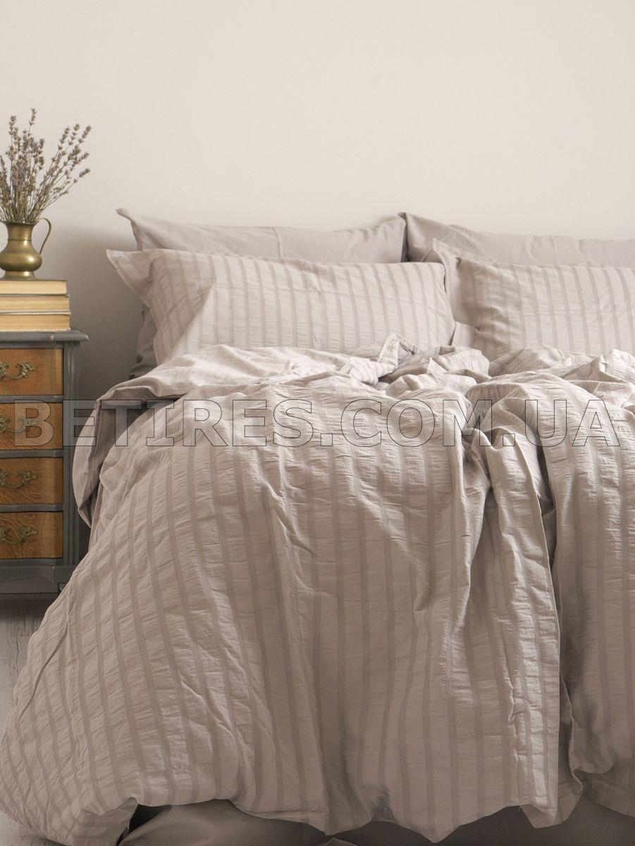 Комплект постельного белья 200x220 NEW CAMILE DARK BEIGE бежевый