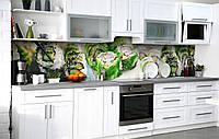 Кухонный фартук 3Д пленка Японский шеф фотопечать наклейка на стену 60х250см Еда, фото 1