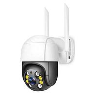IP-камера Wi-Fi Уличная, поворотная автослежение HD 2048x1536P / 3MP HiSeeu WHD813B с блоком питания