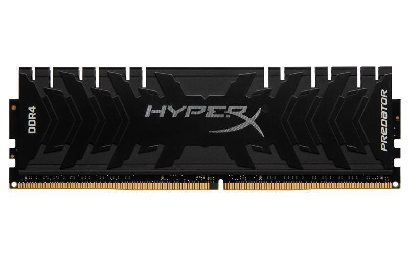 Модуль памяти DDR4 8GB/3200 Kingston HyperX Predator Black (HX432C16PB3/8)