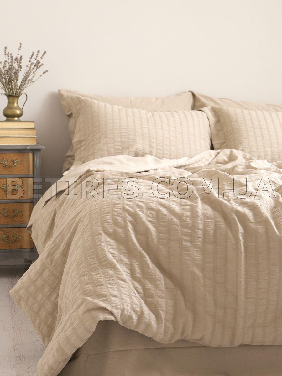 Комплект постельного белья 200x220 NEW CAMILE BEIGE бежевый