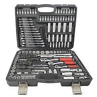Качественный набор инструментов 216 предметов DIZEL DZ-216. Профессиональный!
