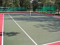 Наливные покрытия хард для теннисных площадок