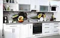 Кухонный фартук 3Д пленка Авокадо хасс фотопечать наклейка на стену 60х250см Еда, фото 1