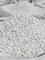 Декоративный камень Белая мраморная крошка, Турция