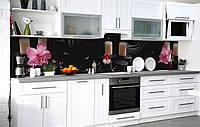 Кухонний фартух 3Д плівка зігріває тепло фотодрук наклейка на стіну 60х250см Абстракція, фото 1