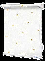 Ролети тканинні Ромашки Білі