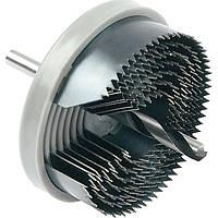 Коронка биметаллическая Bosch 7 пильных венцов 26-64 мм promoline 2607019449