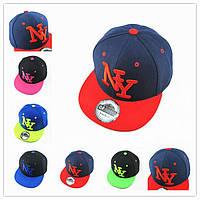 """Модная детская бейсболка """"Нью-Йорк"""" для маленьких стиляг. Качественная кепка. Низкая цена. Код: КД43, фото 1"""