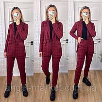 Жіночий брючний стильний класичний костюм піджак і штани новинка 2021
