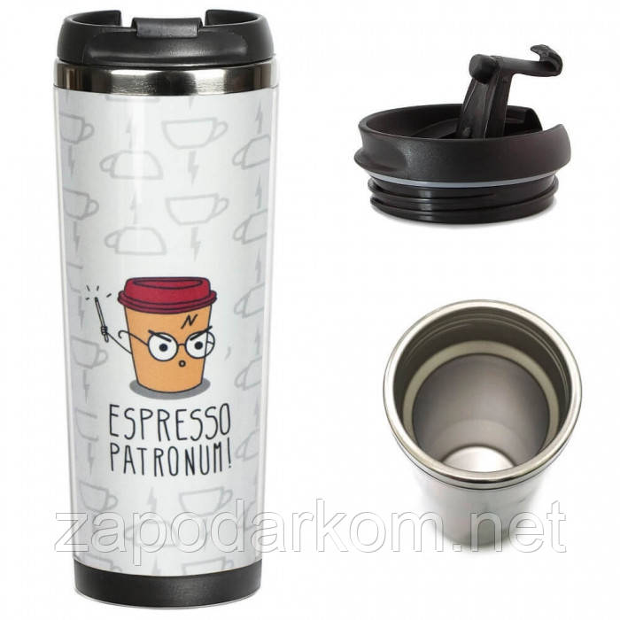 Термокружка  Эспрессо патронум