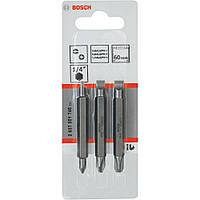 Биты двухсторонние Bosch 3 шт. 60мм S - PH 2607001746