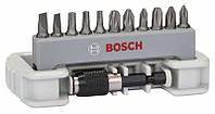 Набор бит Bosch 12 PH,PZ1,T,S+быстросмен держ 2608522130, фото 1