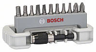 Набор бит Bosch 12 PH,PZ,T,S,HEX+быст/смен держ 2608522131, фото 1