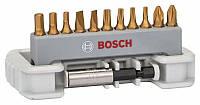Набор бит Bosch 12 PH,PZ,T,S,HEX+магнит.держ. 2608522134, фото 1