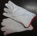 Перчатки сварщика из козьей кожи, фото 3