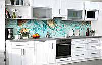 Самоклеющаяся Пленка для Фартука  Из вод океана наклейка на стену 60х250см Абстракция, фото 1