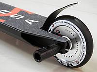 Самокат Трюковой Maraton Versa HIC ODG + пеги, Трюковый, колеса литые металл алюминиевые 110 мм, для трюков
