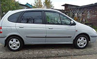 На передние двери. Дефлекторы окон, ветровики \ Renault Scenic 1996-2003 \ Рено Сценик