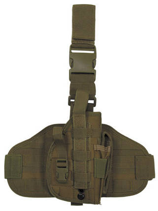 Набедренная кобура для пистолета MFH 30708R , фото 2
