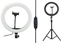 Кільцева LED лампа діаметром S31, 30,5 см з пультом Black, 14333