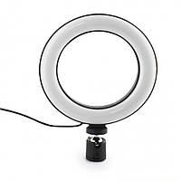 Кільцева LED лампа для Селфі 16 см Ring Light