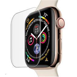Защитное стекло Apple watch 40mm Mocolo 3D с ультрафиолетовой лампой