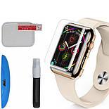 Защитное стекло Apple watch 40mm Mocolo 3D с ультрафиолетовой лампой , фото 2
