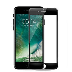 Защитное стекло iPhone 6 plus 5D белое