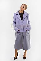 Пальто шерстяное удлиненное 04616 - длина 114 см