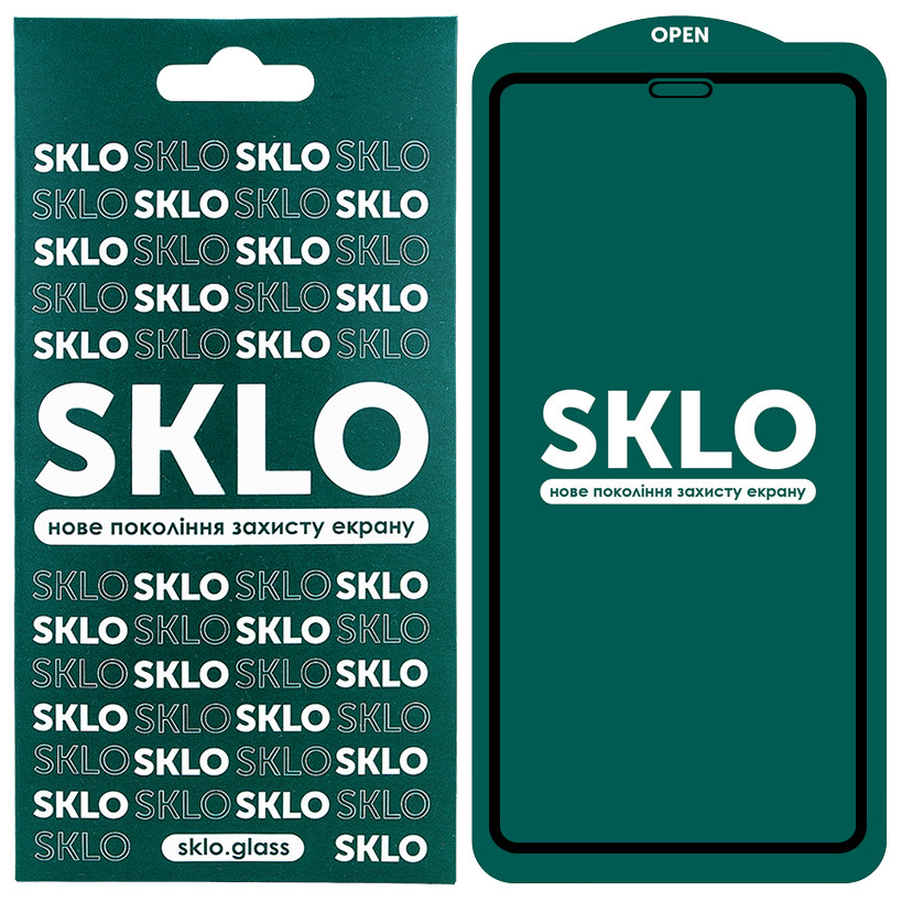 Защитное стекло iPhone 11 SKLO 5D