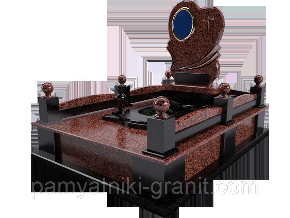 Гранитный памятник (Образец 2047)