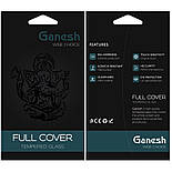 Захисне скло iPhone 11 Pro Max 5D Ganesh Premium, фото 3