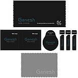 Захисне скло iPhone 11 Pro Max 5D Ganesh Premium, фото 4