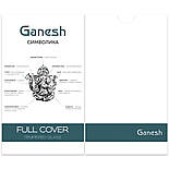 Захисне скло iPhone 11 Pro Max 5D Ganesh Premium, фото 5