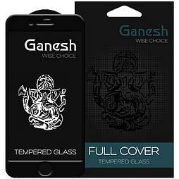 Захисне скло iPhone 7 plus 5D Ganesh Premium