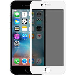 Захисне скло iPhone 7 plus 5D Privacy