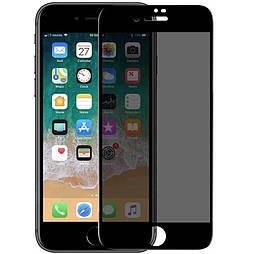 Захисне скло iPhone 7 plus 5D Privacy Matte