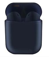Беспроводные bluetooth наушники V99 Touch с кейсом Blue, фото 1