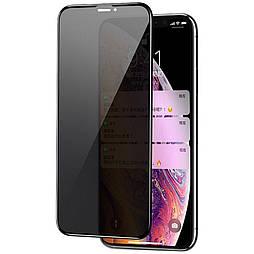 Защитное стекло iPhone XS 5D Privacy