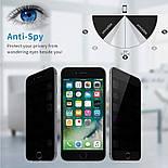 Захисне скло iPhone XS Max 5D Privacy, фото 2