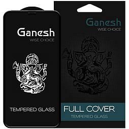 Защитное стекло iPhone XS 5D Ganesh Premium