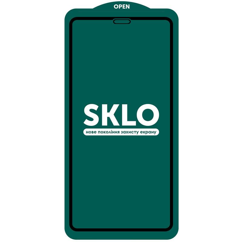 Защитное стекло iPhone X SKLO 5D
