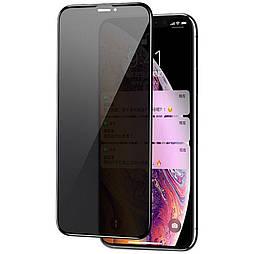 Защитное стекло iPhone XS 5D Privacy Matte
