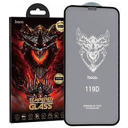 Защитное стекло iPhone 12 5D HOCO DG1 Premium