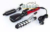 Щипцы для волос 25Вт набор 7 насадок Maestro MR 255
